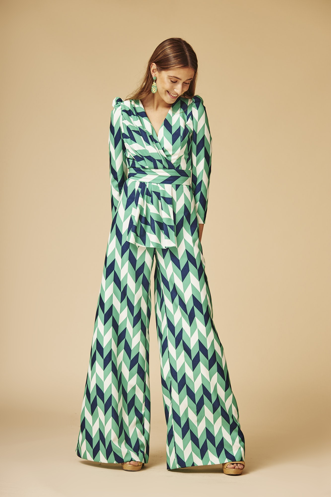 HIROILO GREEN JUMPSUIT