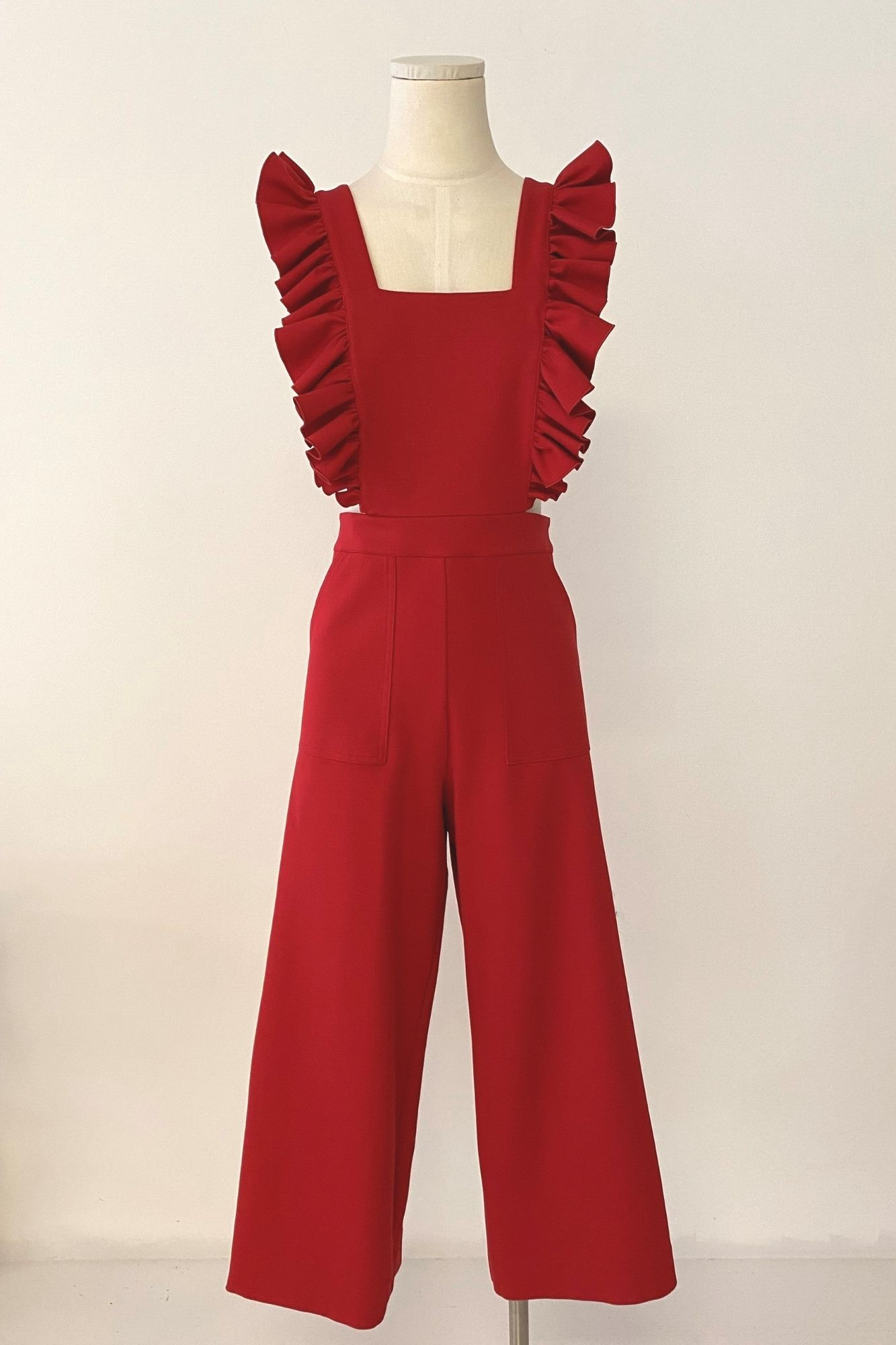 PEPITO RED JUMPSUIT