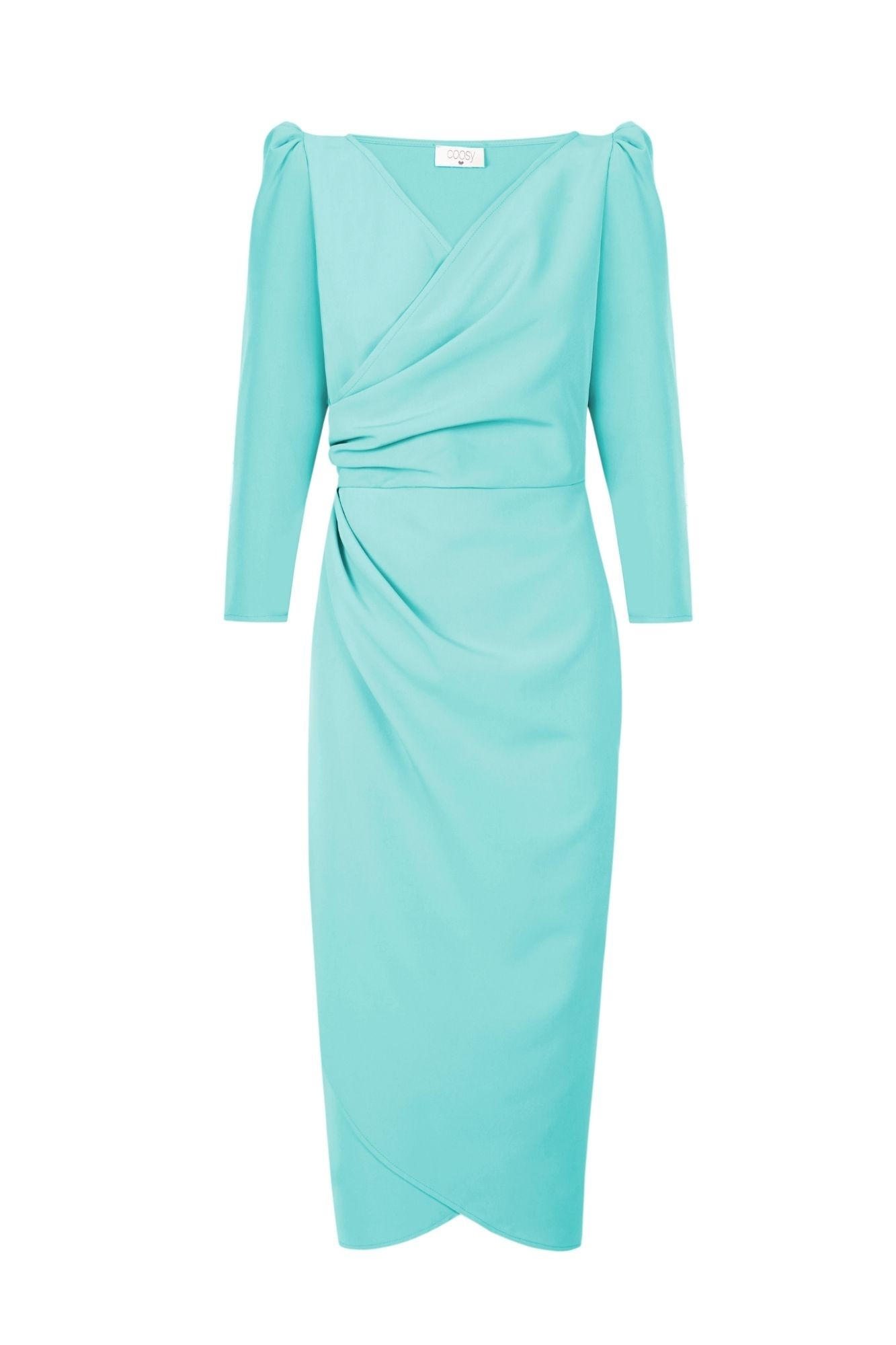 ALMA AQUAMARINE DRESS
