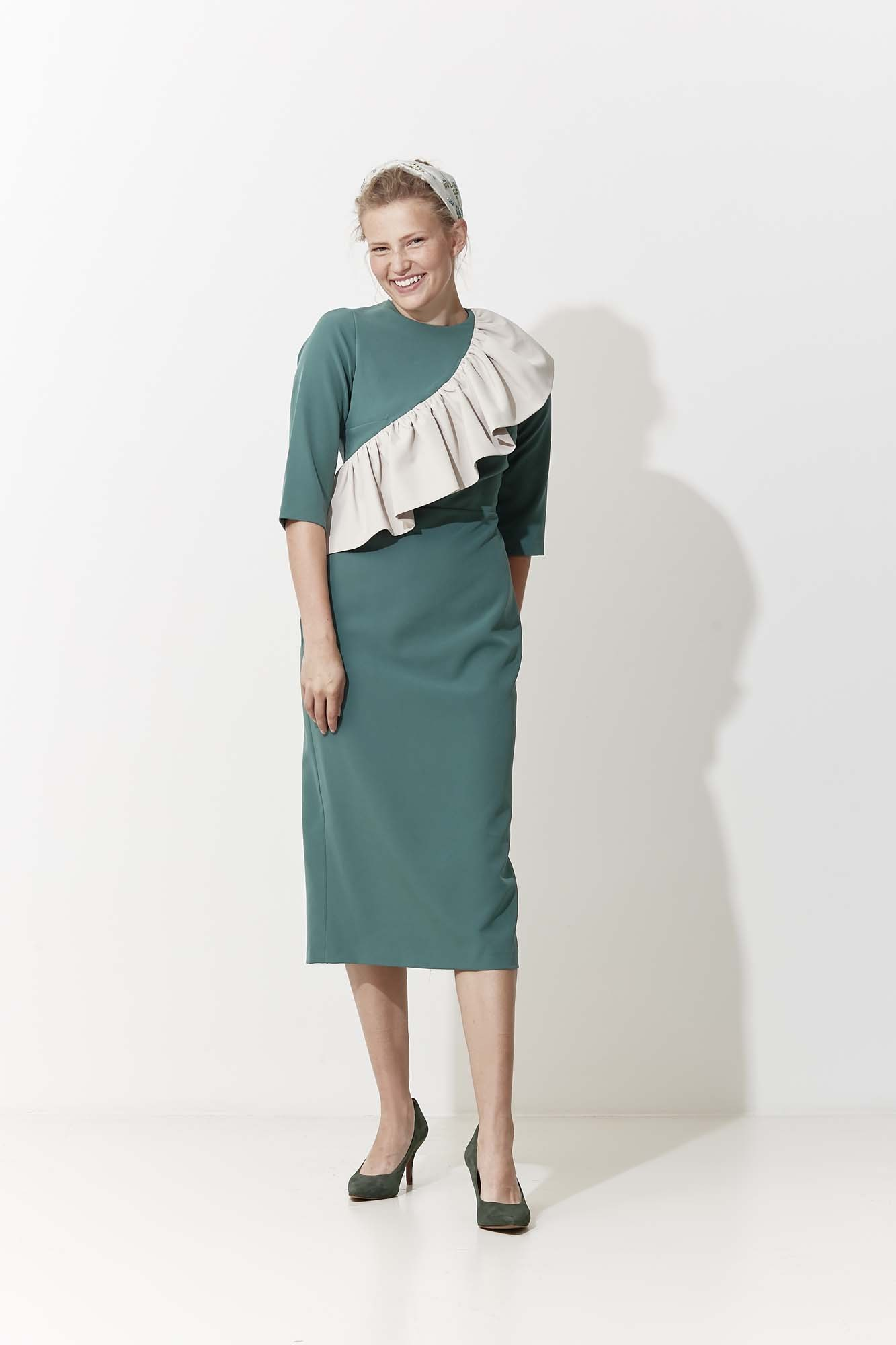 GREEN IZAMAL DRESS