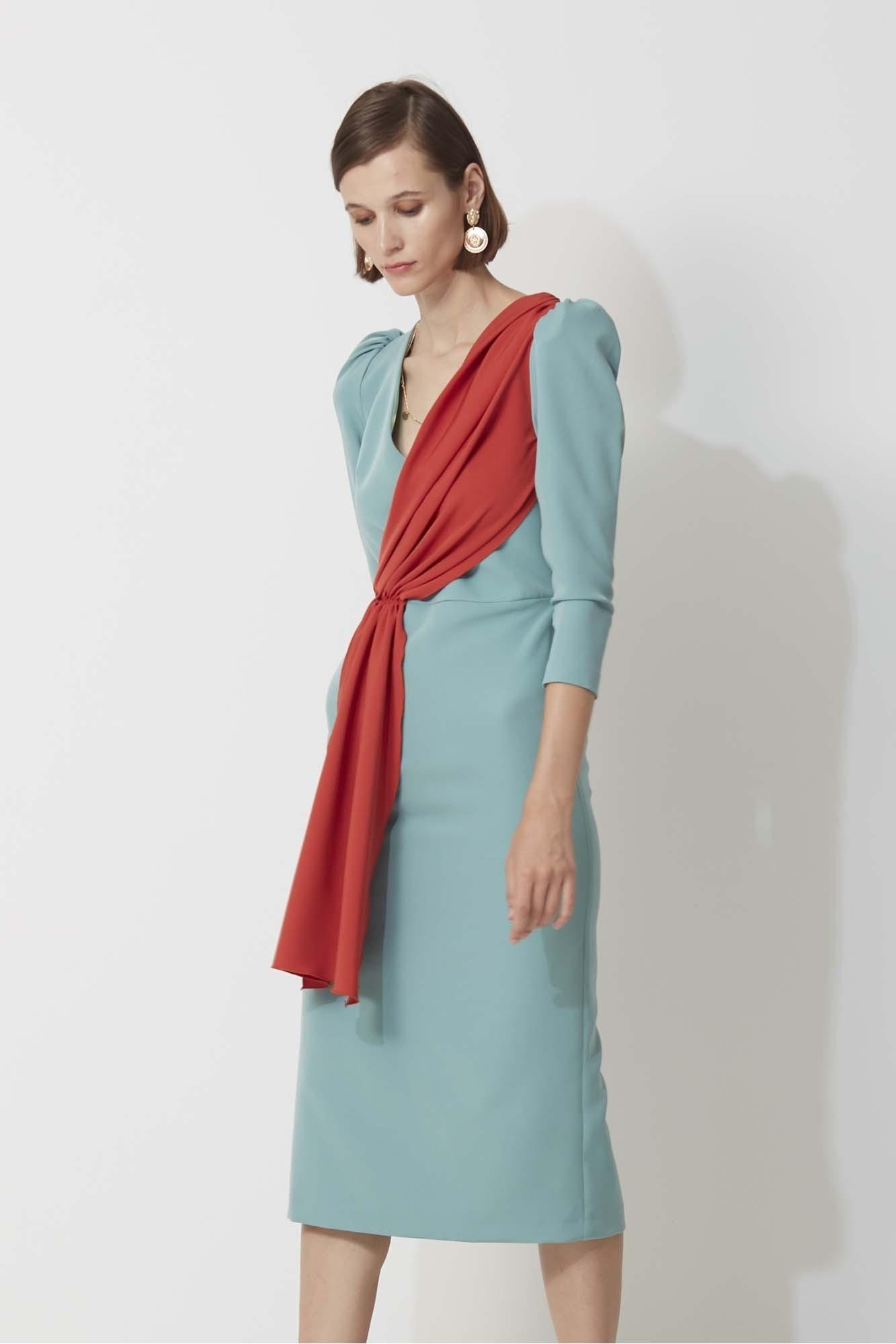 GREEN YUCATAN DRESS
